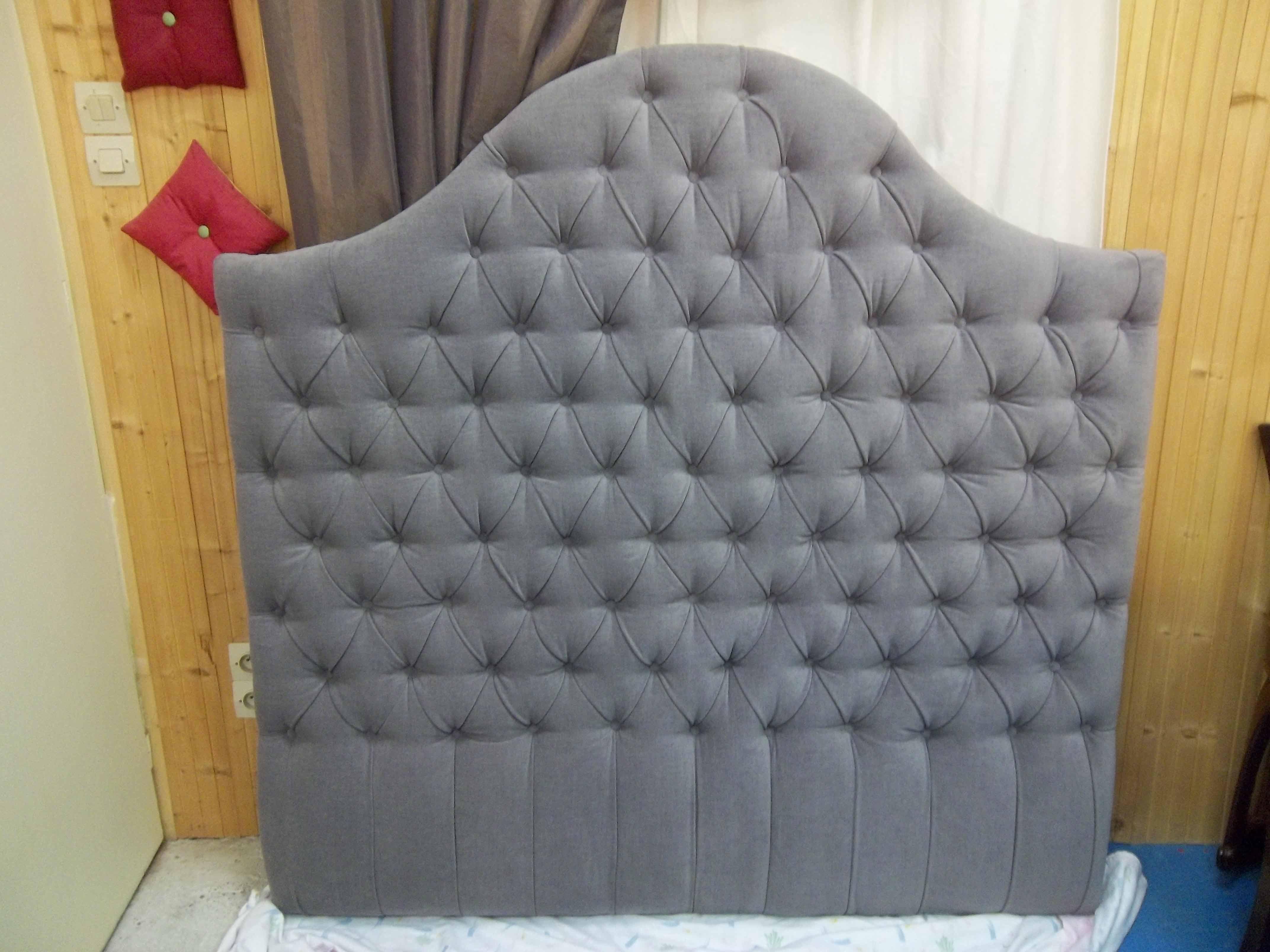 t te de lit 3 tapissier sabrina. Black Bedroom Furniture Sets. Home Design Ideas